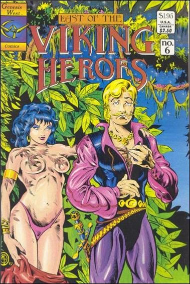 Last Of The Viking Heroes 6-A by Genesis West Comics