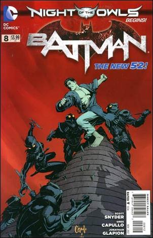 Batman (2011) 8-F by DC