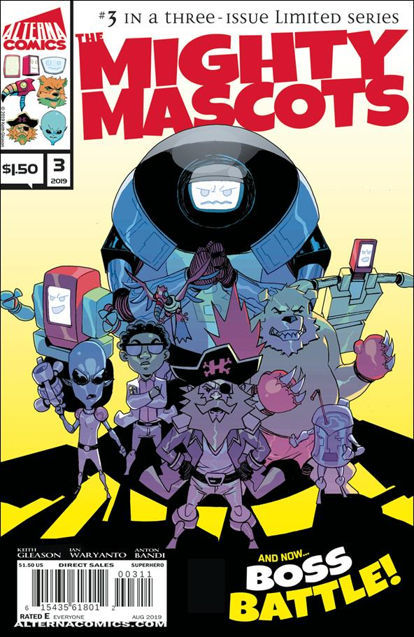 Mighty Mascots 3-A by Alterna Comics