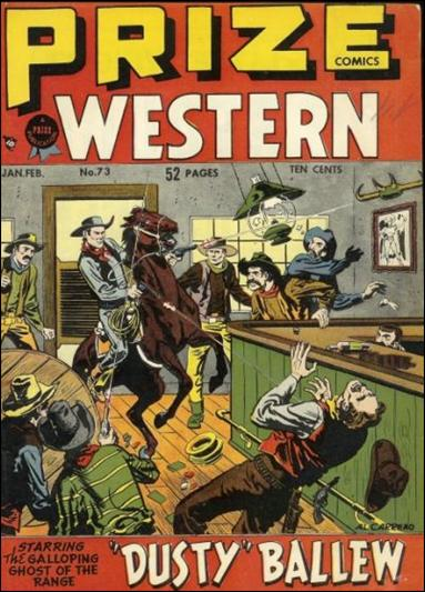 Prize Comics Western 73-A by Feature