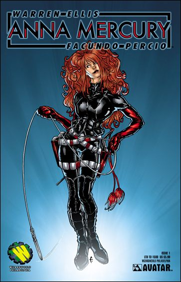 Anna Mercury 1-I by Avatar Press