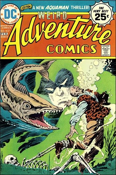 Adventure Comics (1938) 437-A by DC