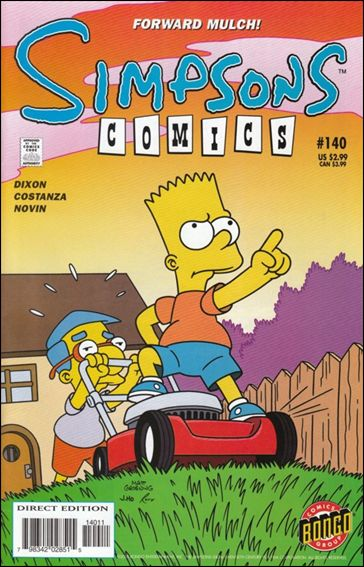 Simpsons Comics 140-A by Bongo