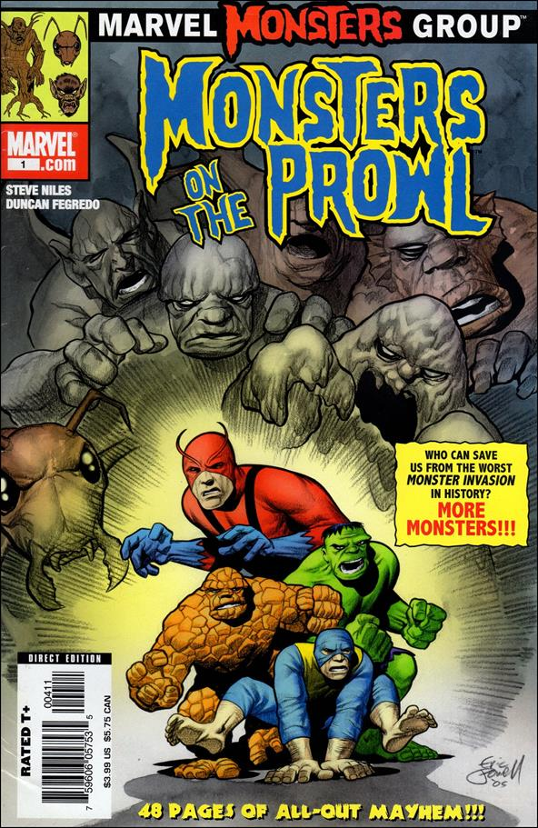 Marvel Monsters: Monsters on the Prowl 1-A by Marvel