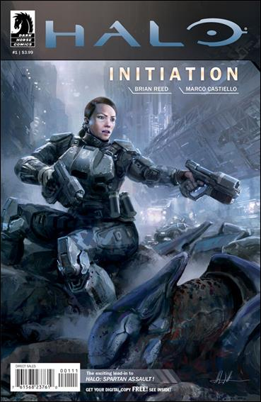 Halo: Initiation 1-A by Dark Horse