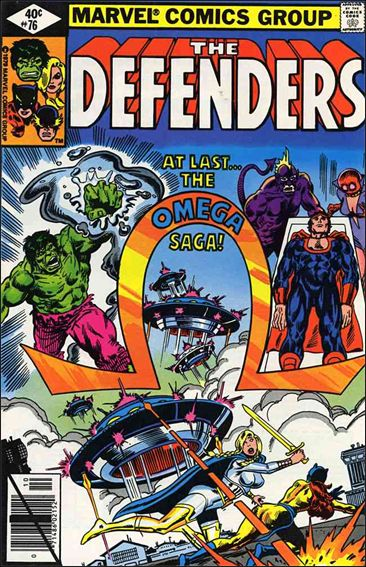 Defenders (1972) 76-A by Marvel