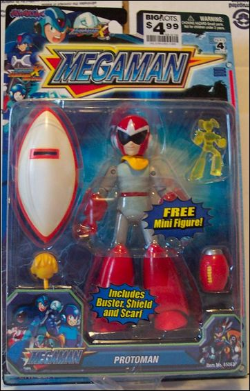"Mega Man 6"" Action Figures Protoman by Jazwares"