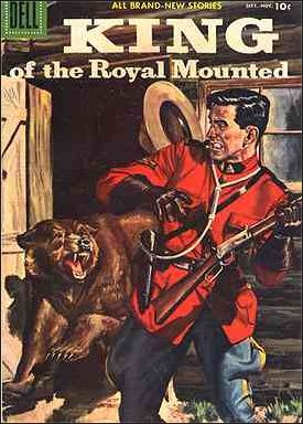 King of the Royal Mounted 26-A by Dell