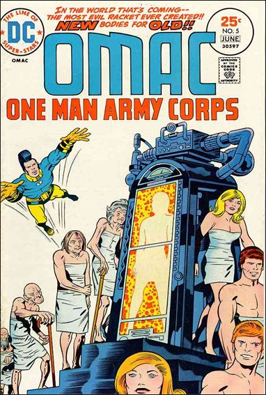 OMAC (1974) 5-A by DC