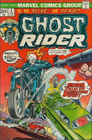 Ghost Rider (1973) 4-A by Marvel