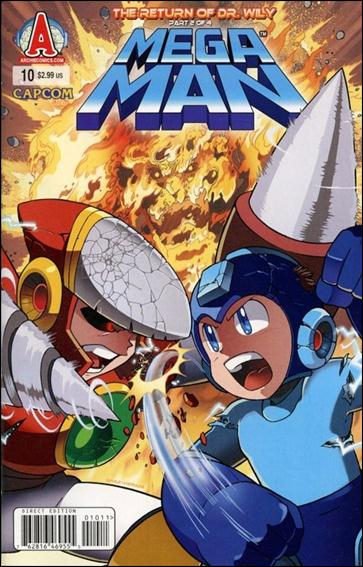 Mega Man 10-A by Archie