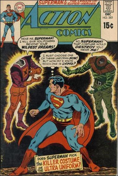 Action Comics (1938) 383-A by DC