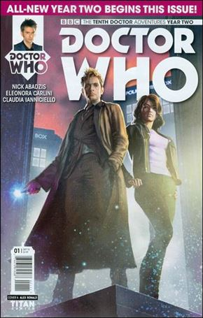 Doctor Who: The Tenth Doctor Year Two 1-A