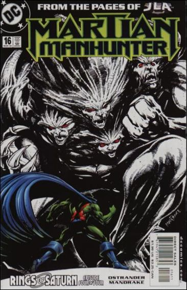 Martian Manhunter (1998) 16-A by DC