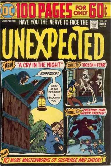 Unexpected (1968) 159-A by DC