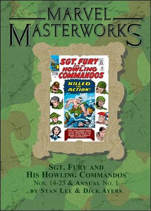 Marvel Masterworks: Sgt. Fury and His Howling Commandos 2-B