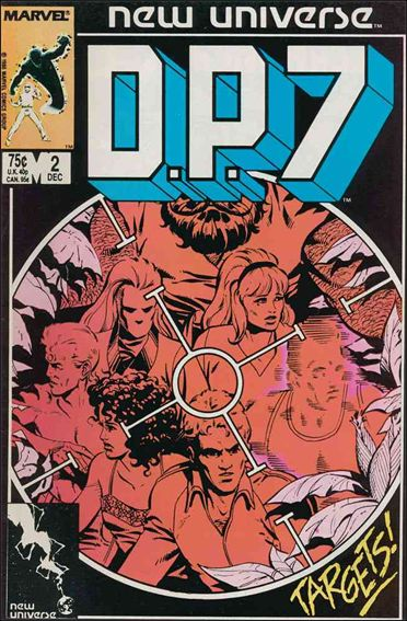 D.P.7 2-A by Marvel