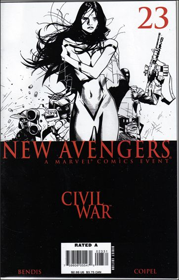 New Avengers (2005) 23-B by Marvel