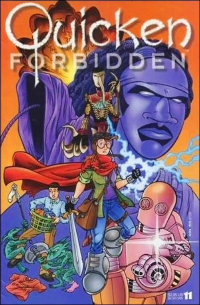 Quicken Forbidden 11-A by Cryptic Press