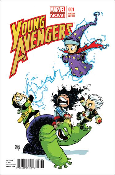 Young Avengers (2013) 1-C by Marvel