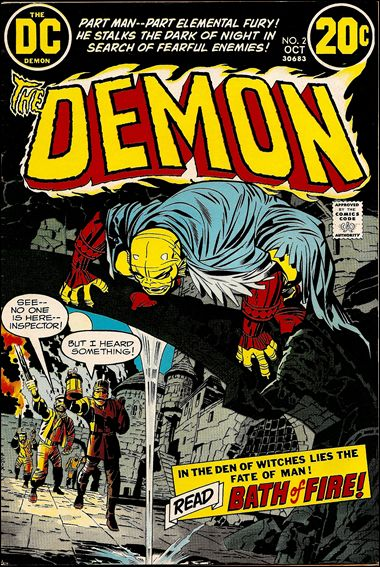 Demon (1972) 2-A by DC