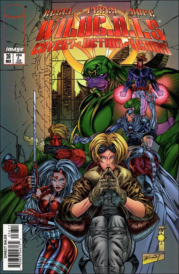 WildC.A.T.s: Covert Action Teams 36-A by Image