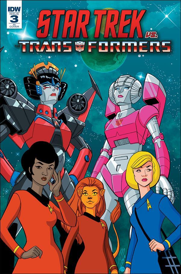 Star Trek vs Transformers 3-C by IDW
