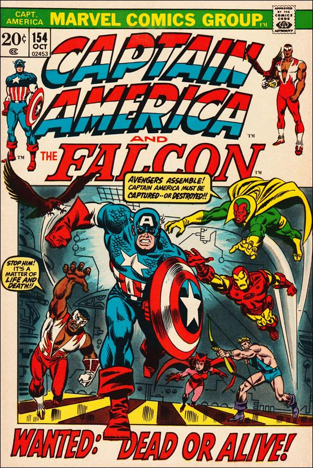 Captain America (1968) 154-A by Marvel