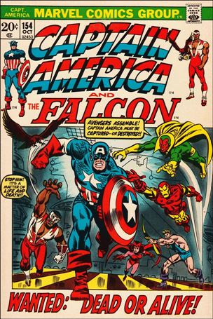 Captain America (1968) 154-A