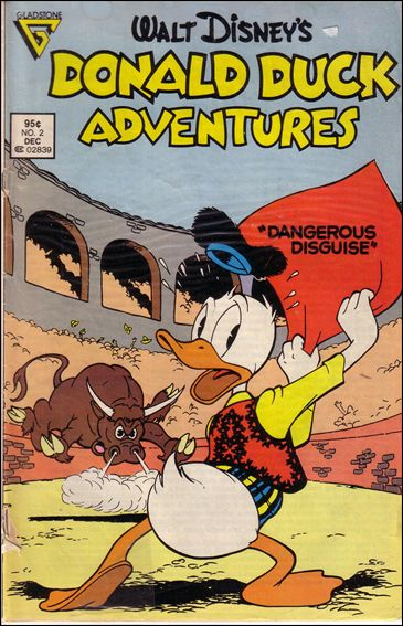 Donald Duck Adventures (1987) 2-A by Gladstone