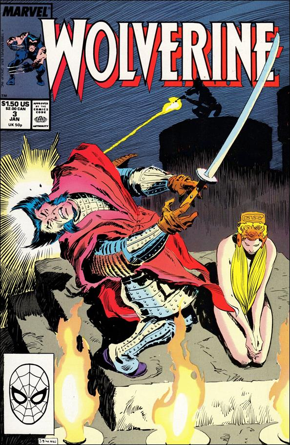 Wolverine (1988)  3-A by Marvel