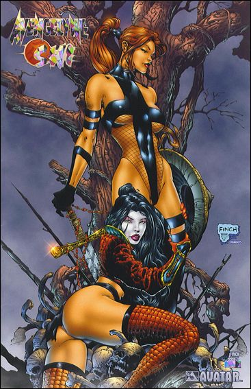 Avengelyne/Shi 1-J by Avatar Press