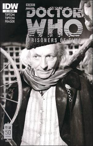 Doctor Who: Prisoners Of Time  1-C by IDW