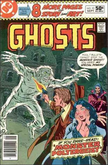 Ghosts (1971) 92-A by DC