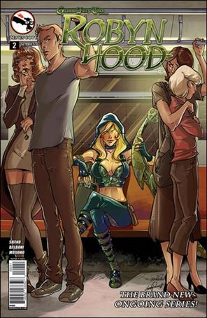 Grimm Fairy Tales Presents Robyn Hood (2014) 2-D