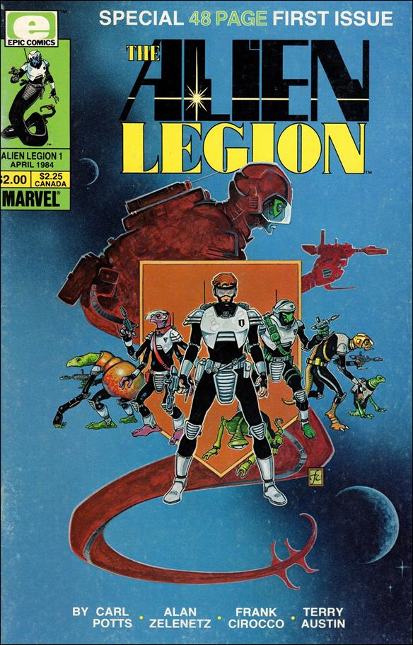 Alien Legion (1984) 1-A by Epic