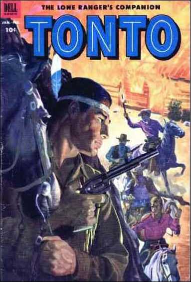 Lone Ranger's Companion Tonto 9-A by Dell
