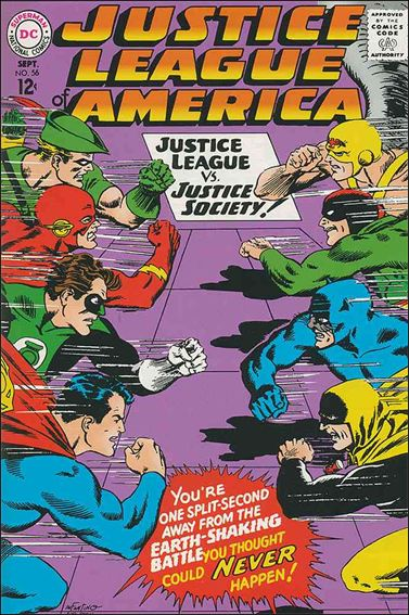 Justice League of America (1960) 56-A by DC
