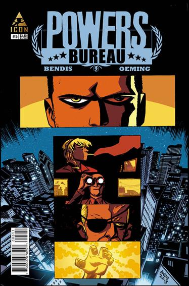 Powers: The Bureau 5-A by Icon