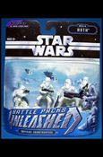 Star Wars: Unleashed Multi-Figure Battle Packs Battle of Hoth - Imperial Snowtroopers