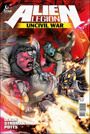 Alien Legion: Uncivil War 4-A by Titan