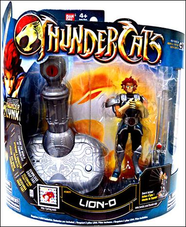 """ThunderCats (2011) 4"""" Deluxe Series Lion-O by Bandai"""