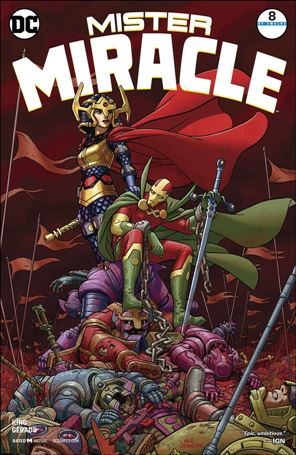 Mister Miracle (2017) 8-A