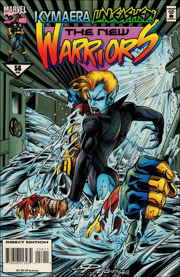 New Warriors (1990) 56-A by Marvel
