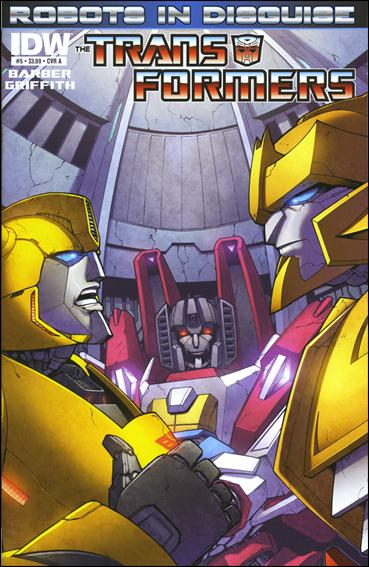Transformers: Robots in Disguise 5-A by IDW