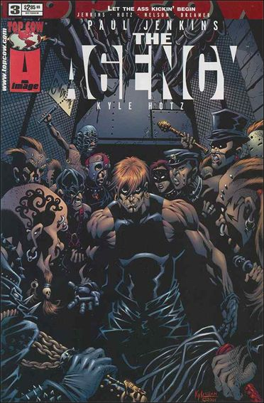 Agency 3-A by Top Cow