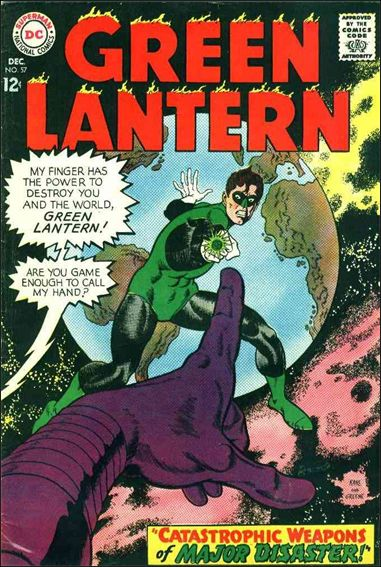Green Lantern (1960) 57-A by DC