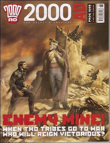 2000 A.D. (UK) 1668-A by Rebellion