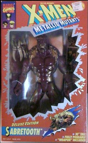 "X-Men (X-Force) Deluxe Edition 10"" Action Figures Sabretooth"