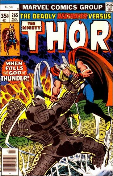 Thor (1966) 265-A by Marvel